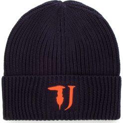 Czapka TRUSSARDI JEANS - Hat Knitted Framis Logo 57Z00080 U290. Niebieskie czapki i kapelusze męskie TRUSSARDI JEANS. Za 169.00 zł.