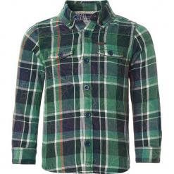 """Koszula """"Bayport"""" w kolorze zielonym. Zielone koszule dla chłopców Noppies Baby, z aplikacjami, z bawełny, z klasycznym kołnierzykiem. W wyprzedaży za 62.95 zł."""