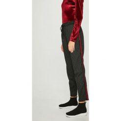 Answear - Spodnie. Szare spodnie materiałowe damskie ANSWEAR. W wyprzedaży za 99.90 zł.