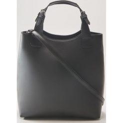 Torba shopper - Czarny. Czarne torebki shopper damskie House. Za 99.99 zł.
