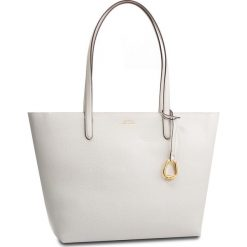 Torebka LAUREN RALPH LAUREN - Merrimack 431742101006 Vanl/Blmst. Białe torebki do ręki damskie Lauren Ralph Lauren, ze skóry ekologicznej. Za 779.00 zł.