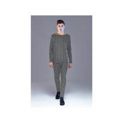 Spodnie dzianinowe Skinny Fit BLACK and WHITE DeLuxe |Bling-Bling|. Eleganckie spodnie męskie marki Giacomo Conti. Za 249.00 zł.