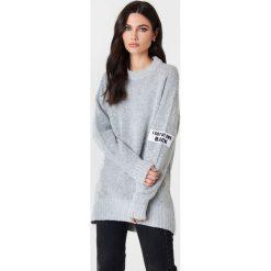 Rut&Circle Sweter Winnie - Grey. Szare swetry damskie Rut&Circle, z dzianiny. Za 141.95 zł.