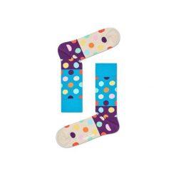 Skarpetki Happy Socks BDB01-6001. Brązowe skarpety męskie Happy Socks, z bawełny. Za 24.43 zł.