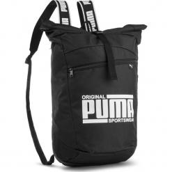 Plecak PUMA - Sole Backpack 075435 Puma Black 01. Czarne plecaki damskie Puma, z materiału, sportowe. W wyprzedaży za 129.00 zł.