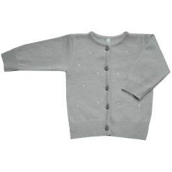 EKO Sweter Dziewczęcy 104 Jasnoszary. Swetry dla dziewczynek marki bonprix. Za 85.00 zł.