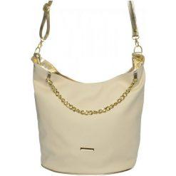 Grosso Bag Torebka Damska Kremowy. Białe torebki do ręki damskie Grosso Bag. W wyprzedaży za 99.00 zł.
