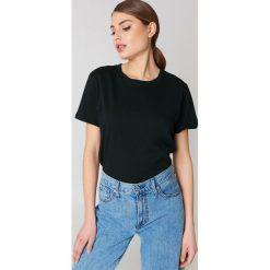 NA-KD Basic T-shirt oversize - Black. Czarne t-shirty damskie NA-KD Basic, z bawełny. Za 52.95 zł.