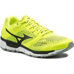 Buty MIZUNO - Synchro Mx J1GE161909 Żółty. Żółte buty sportowe męskie Mizuno, z materiału. W wyprzedaży za 249.00 zł.