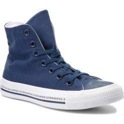 Trampki CONVERSE - Ctas Hi 159585C Navy/Navy/White. Niebieskie trampki męskie Converse, z gumy. W wyprzedaży za 219.00 zł.