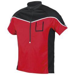 Etape Koszulka Rowerowa Męska Polo Red/Black Xl. Czarne koszulki polo męskie Etape, z krótkim rękawem. W wyprzedaży za 94.00 zł.