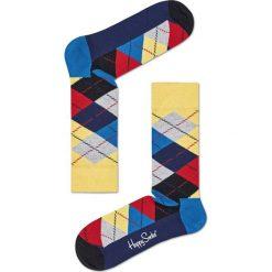 Happy Socks - Skarpety. Szare skarpety męskie Happy Socks, z bawełny. W wyprzedaży za 27.90 zł.