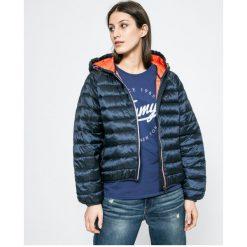 Tommy Jeans - Kurtka. Szare kurtki damskie Tommy Jeans, z jeansu. W wyprzedaży za 499.90 zł.