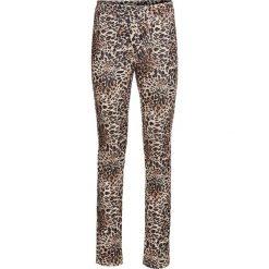 Legginsy w cętki leoparda bonprix brązowo-beżowy leo. Legginsy damskie marki INOVIK. Za 79.99 zł.