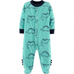 Śpioszki w kolorze zielonym. Zielone śpioszki niemowlęce marki Carter´s. W wyprzedaży za 42.95 zł.