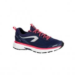 Buty do biegania KIPRUN LONG hydrofobowe damskie. Niebieskie obuwie sportowe damskie KALENJI, z gumy. Za 269.99 zł.