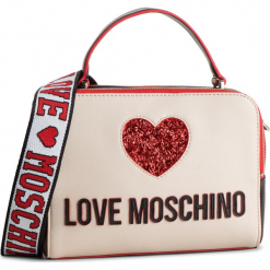 Torebka LOVE MOSCHINO - JC4117PP17L3100A Nero/Avorio. Brązowe torebki do ręki damskie Love Moschino, ze skóry ekologicznej. Za 719.00 zł.