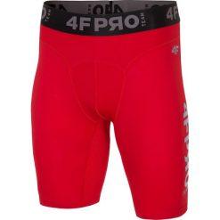 Bielizna baselayer 4FPro SPMF404 - czerwony allover. Czerwona bielizna termoaktywna męska 4f, z jersey. W wyprzedaży za 59.99 zł.