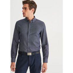 Koszula regular fit - Granatowy. Niebieskie koszule męskie Reserved. Za 119.99 zł.
