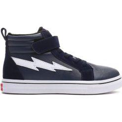 Granatowe Buty Sportowe Highlights. Niebieskie buty sportowe chłopięce Born2be, z materiału. Za 79.99 zł.