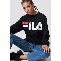 FILA Bluza Classic Logo - Black. Czarne bluzy damskie Fila. Za 202.95 zł.