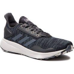 Buty adidas - Duramo 9 BB7716  Carbon/Onix/Gretwo. Szare buty sportowe męskie Adidas, z materiału. W wyprzedaży za 209.00 zł.