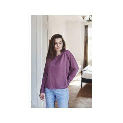 FLORENCE WRZOS bluzka. Fioletowe bluzki damskie Gau great as you, z bawełny, z długim rękawem. Za 179.00 zł.