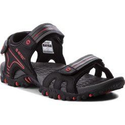 Sandały HI-TEC - Taman AVSSS18-HT-01-Q2 Black/Red. Czarne sandały męskie Hi-tec, z materiału. W wyprzedaży za 129.00 zł.