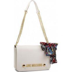Torebka LOVE MOSCHINO - JC4121PP16LV0100  Bianco. Białe torebki do ręki damskie Love Moschino, ze skóry ekologicznej. W wyprzedaży za 619.00 zł.