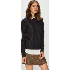 Jacqueline de Yong - Sweter. Brązowe swetry damskie Jacqueline de Yong, z dzianiny. Za 119.90 zł.