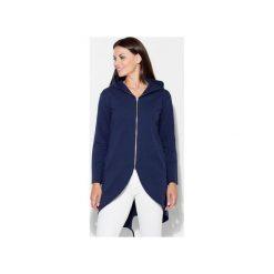 Bluza K215 Granat. Niebieskie bluzy damskie Katrus, z dzianiny. Za 129.00 zł.