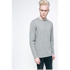 Lee - Sweter. Szare swetry przez głowę męskie Lee. W wyprzedaży za 129.90 zł.