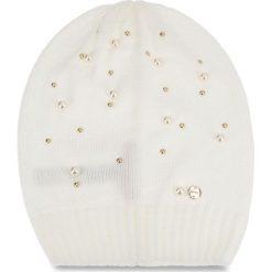 Czapka LIU JO - Cappello Maglia Perl N68251 M0300 Bianco Iana 00086. Białe czapki i kapelusze damskie Liu Jo, z materiału. W wyprzedaży za 179.00 zł.