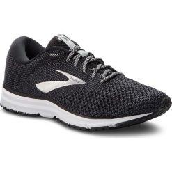 Buty BROOKS - Revel 2 110292 1D 050 Black/Grey/Grey. Czarne buty sportowe męskie Brooks, z materiału. W wyprzedaży za 319.00 zł.