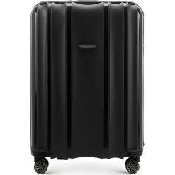 Walizka duża 56-3T-733-10. Czarne walizki damskie Wittchen. Za 279.00 zł.