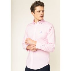 Różowe koszule męskie Polo Ralph Lauren Kolekcja lato 2020  Knvno