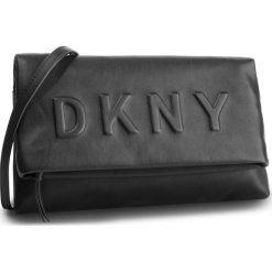 Torebka DKNY - Tilly Cbody Clutch R83EZ704 Blk/Gold BGD. Czarne listonoszki damskie DKNY, ze skóry ekologicznej. Za 639.00 zł.