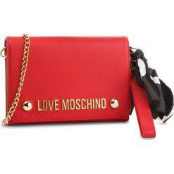 Torebka LOVE MOSCHINO - JC4313PP06KU0500 Rosso. Czerwone torebki do ręki damskie Love Moschino, ze skóry ekologicznej. W wyprzedaży za 409.00 zł.