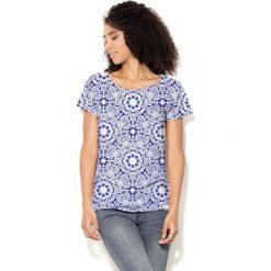 Colour Pleasure Koszulka CP-034  6 granatowo-biała r. XS-S. T-shirty damskie Colour Pleasure. Za 70.35 zł.