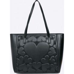Love Moschino - Torebka. Szare torby na ramię damskie Love Moschino. W wyprzedaży za 659.90 zł.