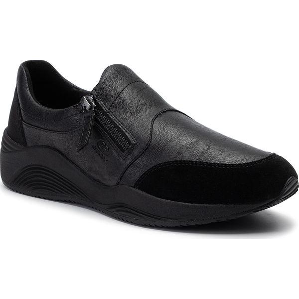 Damskie Obuwie Geox Omaya Sneakersy Niskie Czarny