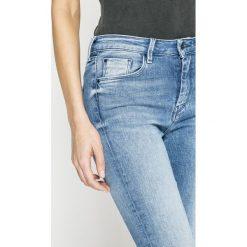 Pepe Jeans - Jeansy Regent. Niebieskie jeansy damskie Pepe Jeans. W wyprzedaży za 269.90 zł.