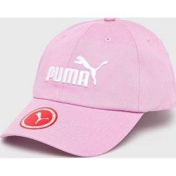 Puma - Czapka. Różowe czapki i kapelusze damskie Puma, z bawełny. W wyprzedaży za 49.90 zł.