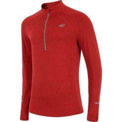 Bluza treningowa męska BLMF200z - czerwony melanż. Czerwone bluzy męskie 4f, na jesień, melanż, z dzianiny. W wyprzedaży za 69.99 zł.