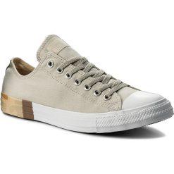Trampki CONVERSE - Ctas Ox 159550C Pale Grey/Desert/White. Brązowe trampki męskie Converse, z gumy. W wyprzedaży za 199.00 zł.