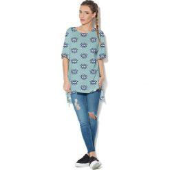 Colour Pleasure Koszulka CP-033  112 niebieska r. uniwersalny. Bluzki damskie marki Colour Pleasure. Za 76.57 zł.
