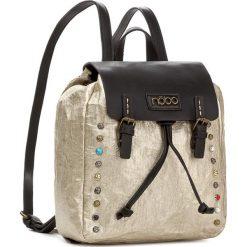 Plecak NOBO - NBAG-D3350-C023 Złoty. Żółte plecaki damskie Nobo, ze skóry ekologicznej, eleganckie. W wyprzedaży za 139.00 zł.