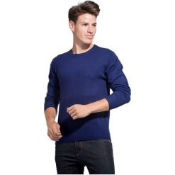 William De Faye Sweter Męski Xxl Niebieski. Niebieskie swetry przez głowę męskie William de Faye. Za 279.00 zł.