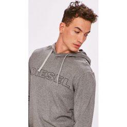 Diesel - Bluza. Szare bluzy męskie Diesel, z nadrukiem, z bawełny. W wyprzedaży za 159.90 zł.