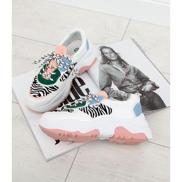Buty sportowe damskie Bello Star BO 91 Białe